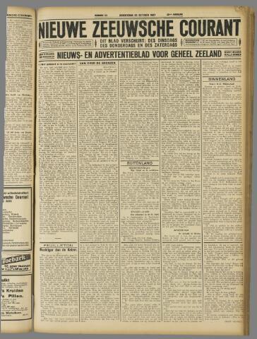 Nieuwe Zeeuwsche Courant 1927-10-20