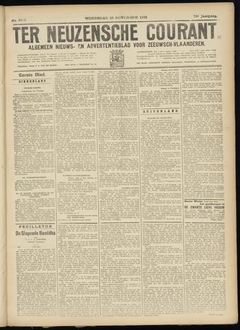 Ter Neuzensche Courant. Algemeen Nieuws- en Advertentieblad voor Zeeuwsch-Vlaanderen / Neuzensche Courant ... (idem) / (Algemeen) nieuws en advertentieblad voor Zeeuwsch-Vlaanderen 1932-11-16
