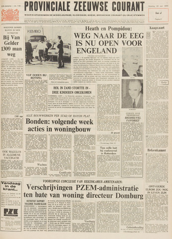 Provinciale Zeeuwse Courant 1971-05-22