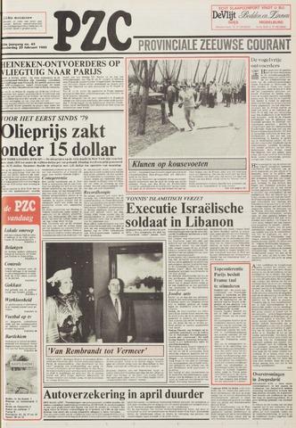 Provinciale Zeeuwse Courant 1986-02-20