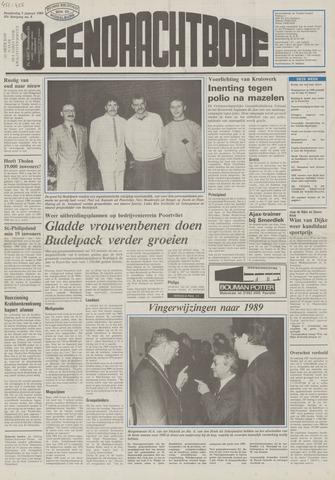 Eendrachtbode (1945-heden)/Mededeelingenblad voor het eiland Tholen (1944/45) 1989-01-05