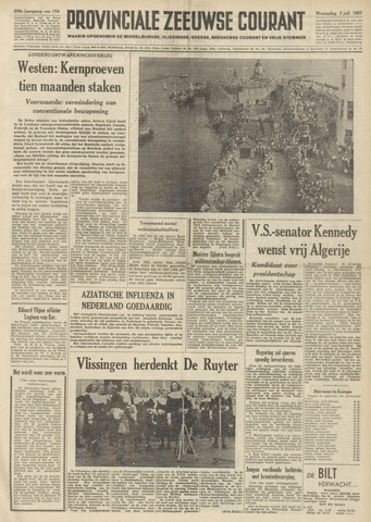 Provinciale Zeeuwse Courant 1957-07-03