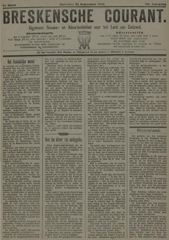 Breskensche Courant 1915-09-25
