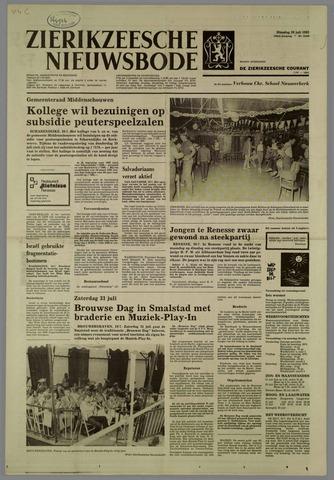 Zierikzeesche Nieuwsbode 1982-07-20