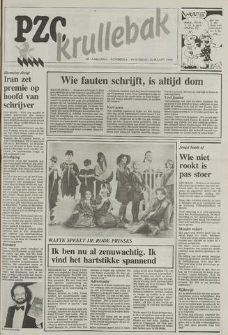 Provinciale Zeeuwse Courant katern Krullenbak (1981-1999) 1989-03-15