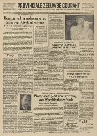 Provinciale Zeeuwse Courant 1953-04-17