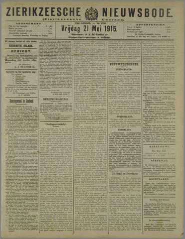 Zierikzeesche Nieuwsbode 1915-05-21