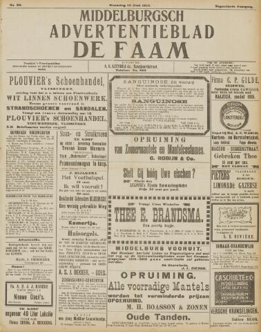 de Faam en de Faam/de Vlissinger 1915-06-16