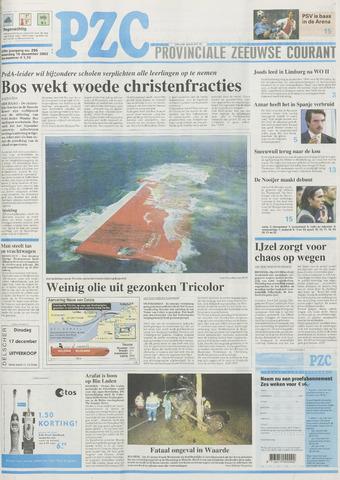 Provinciale Zeeuwse Courant 2002-12-16
