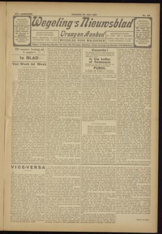 Zeeuwsch Nieuwsblad/Wegeling's Nieuwsblad 1931-07-24