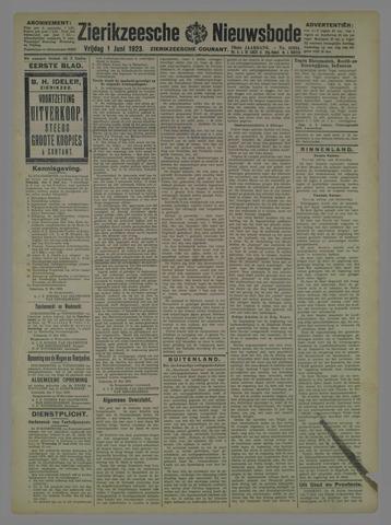 Zierikzeesche Nieuwsbode 1923-06-01