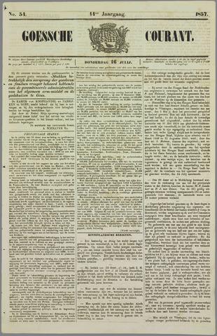 Goessche Courant 1857-07-16