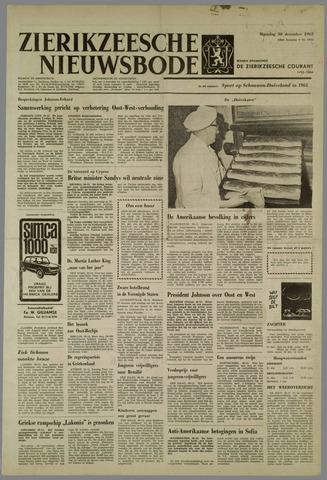 Zierikzeesche Nieuwsbode 1963-12-30
