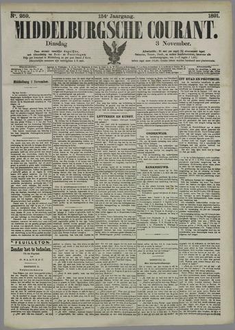 Middelburgsche Courant 1891-11-03