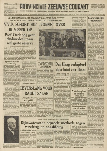 Provinciale Zeeuwse Courant 1962-05-24