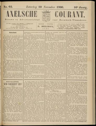 Axelsche Courant 1900-11-10