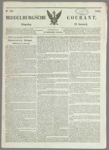 Middelburgsche Courant 1861-01-22