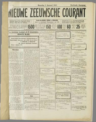Nieuwe Zeeuwsche Courant 1917