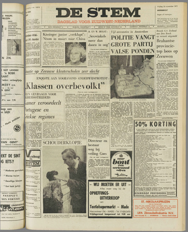 de Stem 1971-11-26