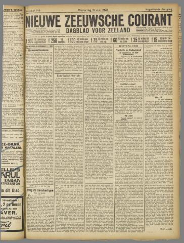 Nieuwe Zeeuwsche Courant 1923-06-21