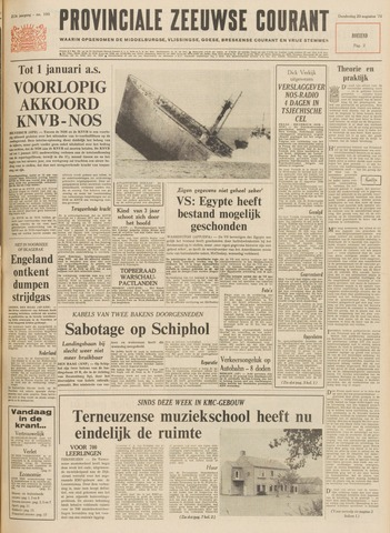 Provinciale Zeeuwse Courant 1970-08-20