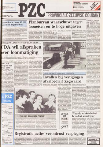 Provinciale Zeeuwse Courant 1989-04-12