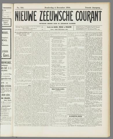 Nieuwe Zeeuwsche Courant 1906-12-06