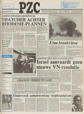 Provinciale Zeeuwse Courant 1979-08-06