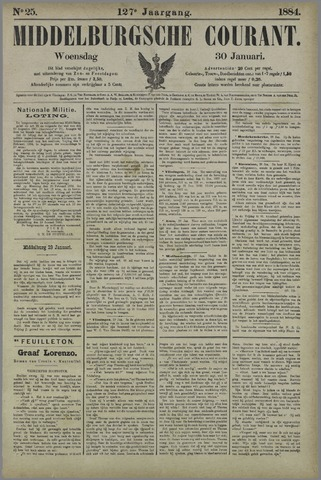 Middelburgsche Courant 1884-01-30