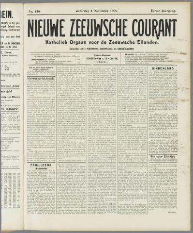 Nieuwe Zeeuwsche Courant 1905-11-04