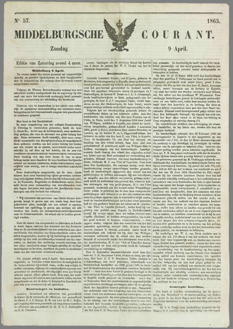 Middelburgsche Courant 1865-04-09