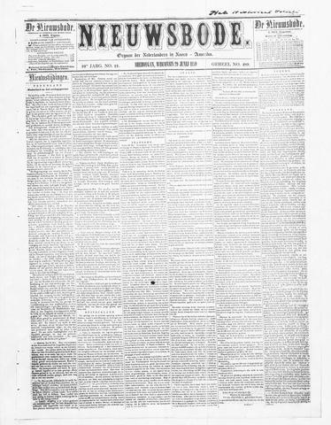 Sheboygan Nieuwsbode 1859-06-29