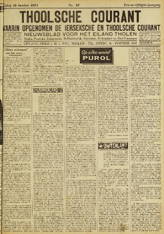 Ierseksche en Thoolsche Courant 1934-10-19