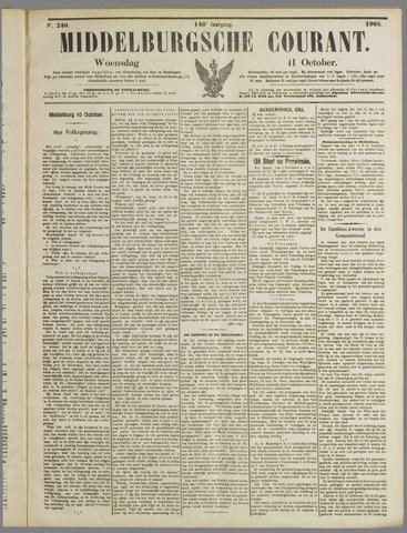 Middelburgsche Courant 1905-10-11