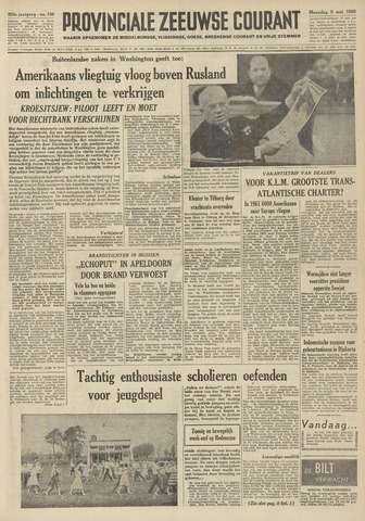 Provinciale Zeeuwse Courant 1960-05-09