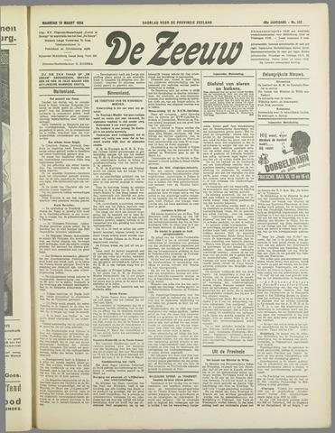 De Zeeuw. Christelijk-historisch nieuwsblad voor Zeeland 1934-03-19