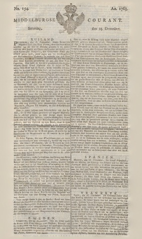 Middelburgsche Courant 1763-12-24