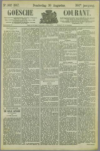 Goessche Courant 1917-08-30