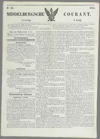 Middelburgsche Courant 1855-06-09
