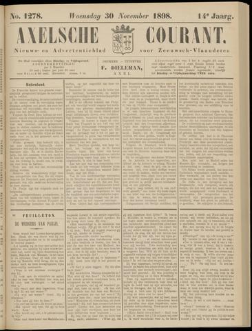 Axelsche Courant 1898-11-30