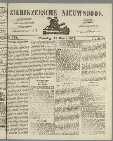 Zierikzeesche Nieuwsbode 1851-03-17
