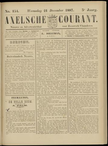 Axelsche Courant 1887-12-21