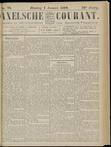 Axelsche Courant 1918