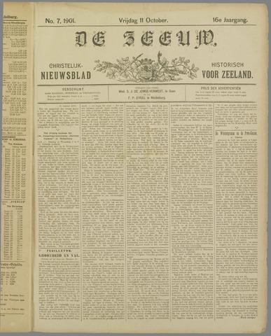 De Zeeuw. Christelijk-historisch nieuwsblad voor Zeeland 1901-10-11