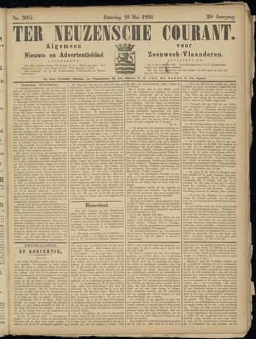 Ter Neuzensche Courant. Algemeen Nieuws- en Advertentieblad voor Zeeuwsch-Vlaanderen / Neuzensche Courant ... (idem) / (Algemeen) nieuws en advertentieblad voor Zeeuwsch-Vlaanderen 1890-05-10