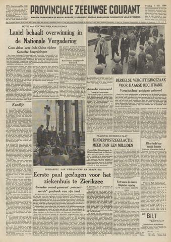 Provinciale Zeeuwse Courant 1954-05-07