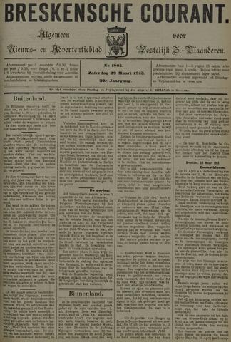Breskensche Courant 1913-03-29