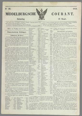 Middelburgsche Courant 1855-03-31