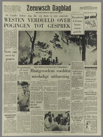 Zeeuwsch Dagblad 1961-08-22