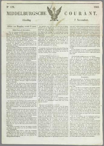 Middelburgsche Courant 1865-11-07